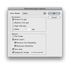 exporting illustrator files to psds...i love designing websites in illustrator...this little trick is a life saver!