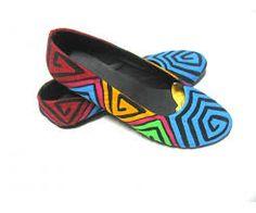 diseños molas - zapatos molas