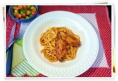 Arte na Cozinha: Macarrão com frango de vó - Menu Criativo