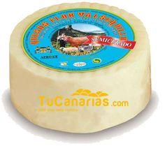 TuCanarias.com Queso Valsequillo Semi Curado 500 gr. Oro Mundial 2009 - Productos Canarios