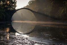 "Photo ""Rakotz"" by Ivan Kravtsov Rakotz Bridge, Celestial, Photography, Outdoor, Instagram, Bridges, Appreciation, Profile, Outdoors"