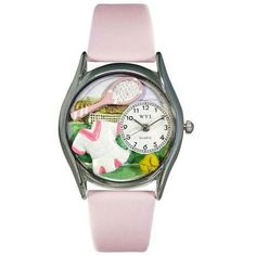 Tennis Watch (Female) Small Silver Style