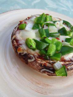 Stuffed Portabella Pizza