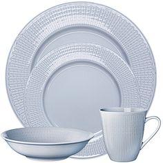 Rörstrand Swedish Grace Dinnerware Collection in Ice