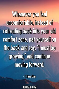 Discover the 50 best comfort zone quotes ever written. Stepping outside your comfort zone opens the door to opportunity, builds confidence, raises self-esteem and enables personal growth. Motto Quotes, New Quotes, Feel Good Quotes, Good Life Quotes, Motivational Quotes For Students, Leadership Quotes, Comfort Zone Quotes, Personal Trainer Quotes, Best English Quotes