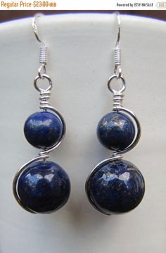 ON SALE Lapis Lazuli & Sterling Silver by SimpleTruthCreations