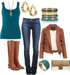 Relaxed autumn outfit