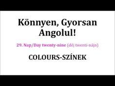 Könnyen, Gyorsan Angolul 1-106. nap - YouTube Nap, Languages, Cards Against Humanity, Study, English, Education, Youtube, Idioms, Studio