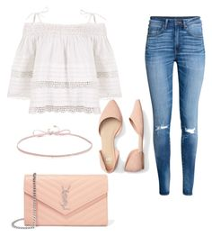 """""""Casual"""" by lizzythedizzy on Polyvore featuring Yves Saint Laurent, H&M, Kirei and Finn"""
