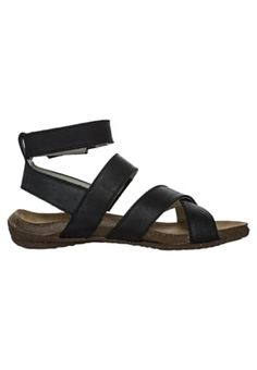 El Naturalista Sandals - black for £85.00 (26/03/16) with free delivery at Zalando