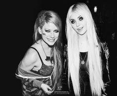 "drawingvirtual: ""Taylor Momsen and Avril Lavigne! #REPOST """