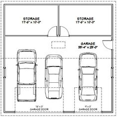 3 car garage dimensions building codes and guides for 36x36 garage