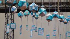 Argentina Crafts Make Ideas Para Fiestas, Crafts To Make, Origami, Paper Crafts, Christmas, How To Make, Diy, Google, Gardens