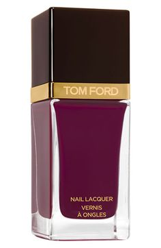 Tom Ford Nail Lacquer available at #Nordstrom / Bordeaux Lust - oxblood color/ Ginger Fire - hot color orange mango ish winter 2012 2013/ indian pink/ african violet - 30 bucks per bottle!!