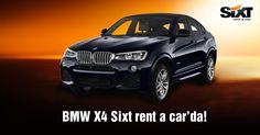 BMW'nin yeni üyesi X4 Sixt rent a car'da. www.sixt.com.tr #sixt #sixtrentacar #sixtturkiye #sixtturkey