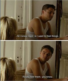revolutionary road and leonardo dicaprio image