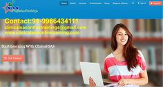 Hi Guys, Are you looking for Clinical SAS Online Training? Here is the right place.  We will provide the best online trainings in the training Industry on clinical SAS by expert SAS certified and real time experienced trainers with live data and live examples.  Course Details:  Base SAS Advanced SAS(Macros and Proc SQL) Clinical Domain knowledge Project work.