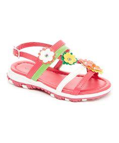 Peach Flower Sandal