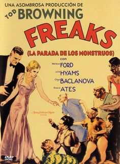 La parada de los monstruos (1932) EEUU. Dir: Tod Browning. Drama. Terror. Discapacidade. Películas de culto - DVD CINE 209