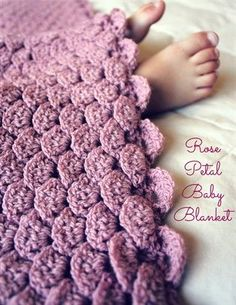 Crochet Puffy Flower Blanket Free Pattern | The WHOot