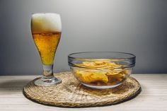 Beer, Alcohol, Brew, Drink, Chips