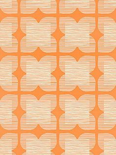 Orla Kiely Flower Tile Wallpaper #pattern #texture