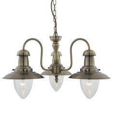 Lustr/závěsné svítidlo SEARCHLIGHT SL 5333-3AB | Uni-Svitidla.cz Rustikální #lustr vhodný jako centrální osvětlení interiérových prostor od firmy #searchlight, #design, #england, #lustry, #chandelier, #chandeliers, #light, #lighting, #pendants