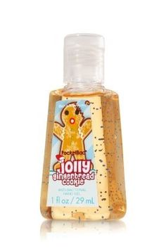 Bath and Body Works PocketBac Jolly Gingerbread Cookie Hand Sanitizing Hand Gel by Bath & Body Works. $0.01. This pocket-sized bottle contains powerful germ killers and natural ingredients that clean your hands wherever you go, leaving your hands lightly scented with a delectable blend of ginger, cinnamon, and warm vanilla.