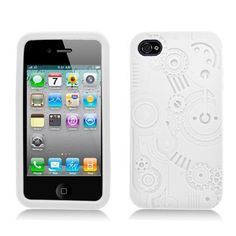 IPhone 4 4S Embossed Gears Pattern in White Protector Case by Aimo. $10.99. Save 69% Off!. http://notloseyourself.com/showme/dpqux/Bq0u0x7tIvYbJgHzAdKw.html