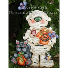 The Decorative Painting Store: I Miss My Mummy Pattern, All Pattern Packets