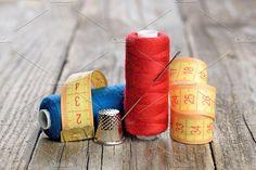 Spools of thread by windu on @creativemarket
