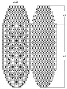 """Alfie - Knitted DROPS slippers with Norwegian pattern in """"Nepal"""". - Free pattern by DROPS Design"""
