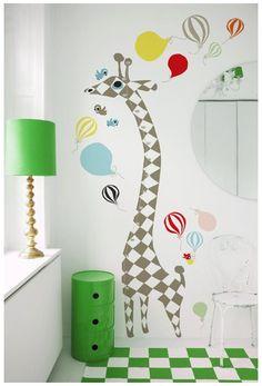 Littlephant Giraffe Wandsticker http://weloveyoulove.bigcartel.com/product/wandsticker-giraffe-von-littlephant