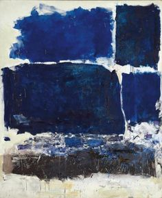 Joan Mitchell-way to play with different shades same hue