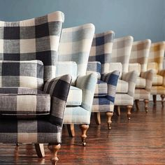 Check please! Which color would you choose? [Link in bio to shop the Rio chair] Check please! Which color would you choose? [Link in bio to shop the Rio chair] Country House Design, Country Style Homes, Home Decor Colors, Easy Home Decor, Living Room Colors, Living Room Decor, Living Rooms, Buffalo Check Chair, Chair Design
