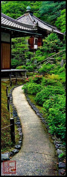 Reikan -ji kyoto, japan**.