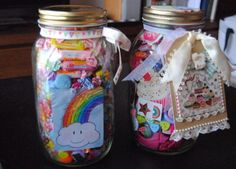 Caseta de Paper: Whimsy Jars, because all the cool kids are doing it!
