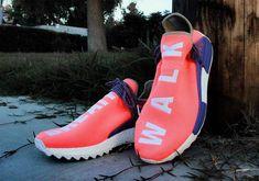 f8ba00f73b168 Pharrell x adidas NMD Hu Breathe Walk New Release Shoes
