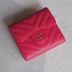 Chanel Classic Small Pocket Flap Wallet Style code: Size: x x inches Unique Selling Proposition, Chanel Wallet, Birkin, Continental Wallet, Hermes, Women's Fashion, Pocket, Classic, Bags