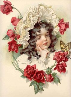 MAUD HUMPHREY (1868- 1940)     Esta ilustradora e aguarelista americana era, nada mais, nada menos, do que a mãe do celebérrimo actor Humph...