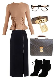 Designer Clothes, Shoes & Bags for Women Night Outfits, Chic Outfits, Fashion Outfits, Fashion Sets, Work Outfits, Women's Fashion, Lawyer Outfit, Royal Clothing, Other Outfits