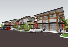 Inland Northwest Business Watch: New shopping center in the works ... Shopping Center, Shopping Mall, Spokane Valley, Retail Architecture, Strip Mall, Mall Design, Investment Property, Exterior, Mansions