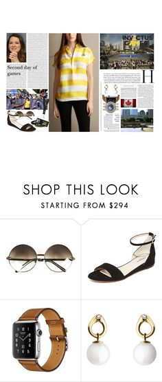 """""""Untitled #3006"""" by duchessq ❤ liked on Polyvore featuring Burberry, Cartier, L.K.Bennett and Georg Jensen"""