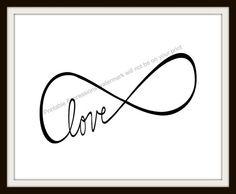 Endless Infinity Love 8x10 download.  #infinitylove