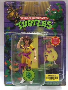 (TAS013634) - 1994 Playmates Toys Teenage Mutant Ninja Turtles - April Figure