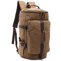Gutes Teil! Koffer, Rucksäcke & Taschen, Reisegepäck, Weekender Weekender, Duffel Bag, Vintage Canvas, Weekend Trips, Black Handbags, Convertible, Hiking, Backpacks, Shoulder Bag
