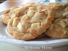 ... | White Chocolate, Fruitcake Cookies and Macadamia Nut Cookies
