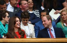 On July 8, William and Catherine attended day nine of the Wimbledon Tennis Championships in London — one of their annual traditions. The prince kept making his wife laugh during their countryman Andy Murray's men's singles match against Vasek Pospisil.   - TownandCountryMag.com