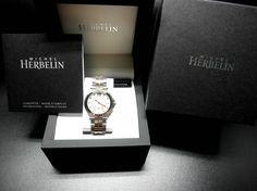 US Michel Herbelin Newport ladies Bi-color Audemars Piguet Rose Gold, Audemars Piguet Price, Audemars Piguet Watches, Iwc, Breitling, Newport, Buy Rolex, Gold Watch, Rolex Watches