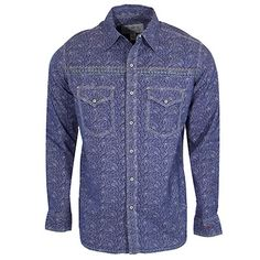 Men's Ryan Michael Dragonfly Shirt at Maverick Western Wear